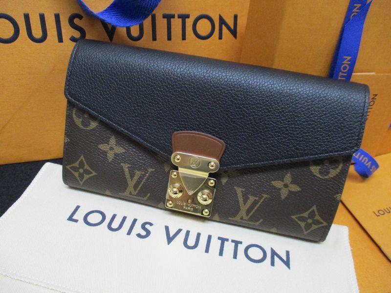 sale retailer b6d60 f8614 ルイ・ヴィトン モノグラム財布 ポルトフォイユ・パラス M58415 ...